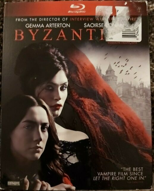 BYZANTIUM Blu-ray sealed with slip cover