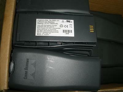 Lot of 29 NEW Cisco 74-2901-01 Lithium Ion Batteries 1960 mAh for Cisco 7920 IP
