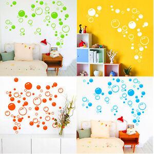 Das Bild Wird Geladen Wandtattoo Bunt Blase Seifenblasen Aufkleber  Sticker Bubble Badezimmer