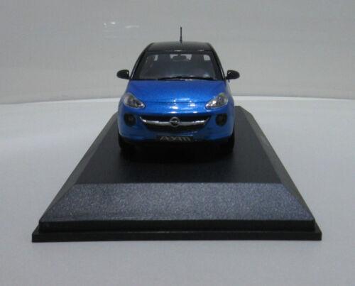 Modello di auto Opel Adam Blu Nero Misura di Stab 1:43 Arden Blue Onyx Black 10927 auto