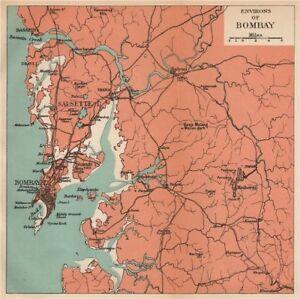 India Bombay Mumbai Environs Maharashtra Salsette Matheran