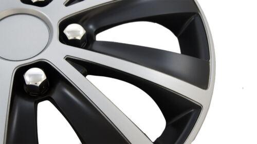"4 x Adornos De Rueda Tapacubos 16/"" cubre se ajusta Renault Espace Laguna Escénico Modus"