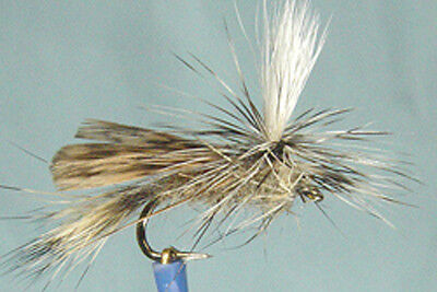 3 x mouches white gloved howdy H10 type nymphe fliegen mosca fly