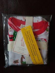 Pottery Barn Kids Jolly Santa Tight Fit Pajama S Size 3t