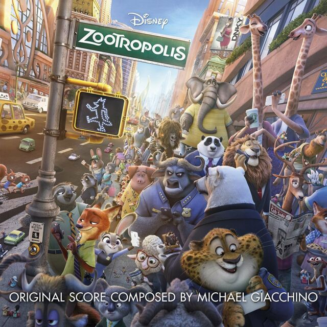 Michael Giacchino - Zootropolis Soundtrack (CD)