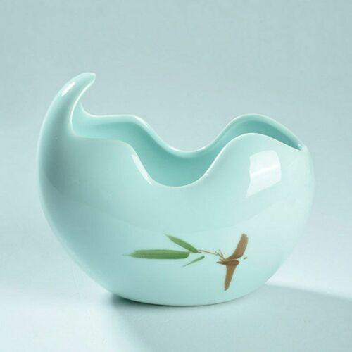 Ceramic Bonsai Plant Pot Succulent Flower Garden Glazed Crafts Porcelain Planter