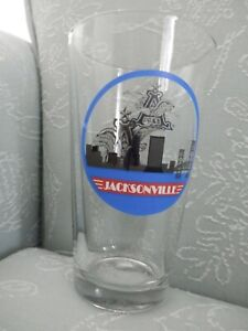 Anheuser-Busch-Jacksonville-Beer-Pint-Glass-Skyline-amp-Logo