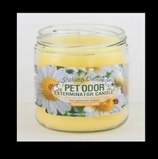 "Pet Odor Exterminator Candle: "" Picking Daisies"""