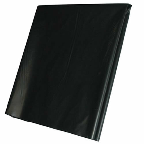 2M X 30M 500G Black Heavy Duty Polythene Plastic Building Dust Rubble Sheet DIY