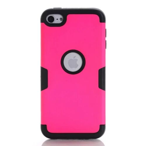 For iPod Touch 5th //6th Gen Hybrid Shockproof High Impact Rubber Hard Case Cover