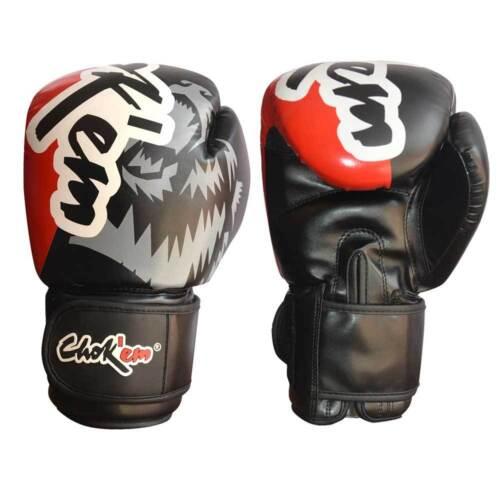 Kick Boxing CHOKEM Standard Tight Fit Boxing Gloves Muay Thai Boxing MMA UFC