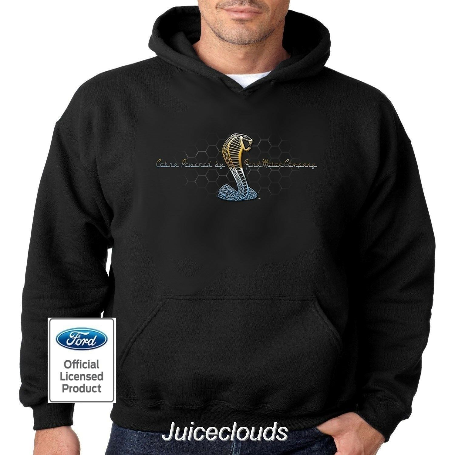 Ford Hoodie Mustang Cobra Ford Motor Company Shelby GT500 Men's Sweatshirt
