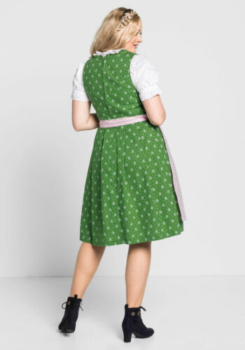 KP 129,99 € SALE/%/%/% sheego Style Dirndl mit Schürze und Bluse 3tlg NEU!!
