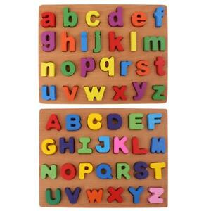 Wooden-Puzzle-Letters-Toy-Kids-Baby-Alphabet-Early-Educational-Toy-Gift-8Y