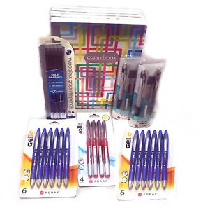Back-to-School-Bundle-Writing-amp-Composition-Pens-Pencils-Composition-Books