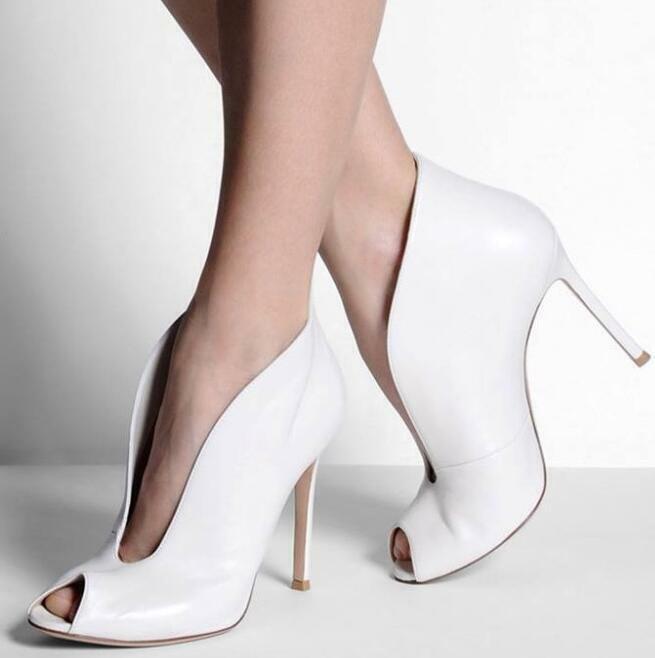 Gladiator Damen High Heel Stiletto Offen Ankle Stiefel Party Sandalen Schuhe 35-47