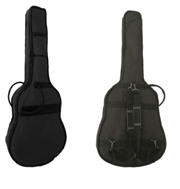 Softkoffer für 4//4 Gitarren Gig Bag GK20 blau,Polsterung 15mm,Konzertgitarre