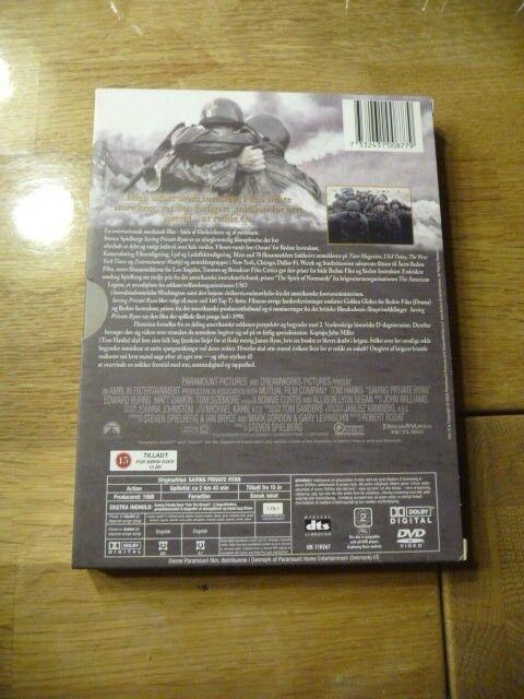 Saving private Ryan, instruktør Steven Spielberg, DVD