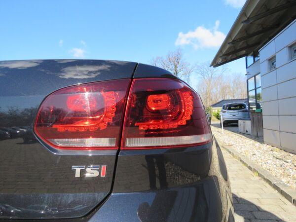VW Golf VI 1,4 TSi 122 Cabriolet DSG - billede 5