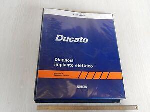 Schema Elettrico Camper : Manuale officina originale fiat ducato diagnosi impianto elettrico