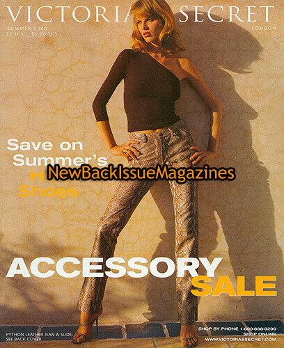 Victoria's Secret Accessory Book 6/00,Eva Herzigova,June 2000,RARE