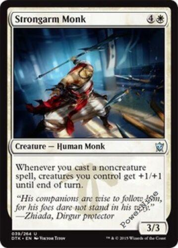 White Dragons of Tarkir Mtg Magic Uncommon 1x x1 1 FOIL Strongarm Monk