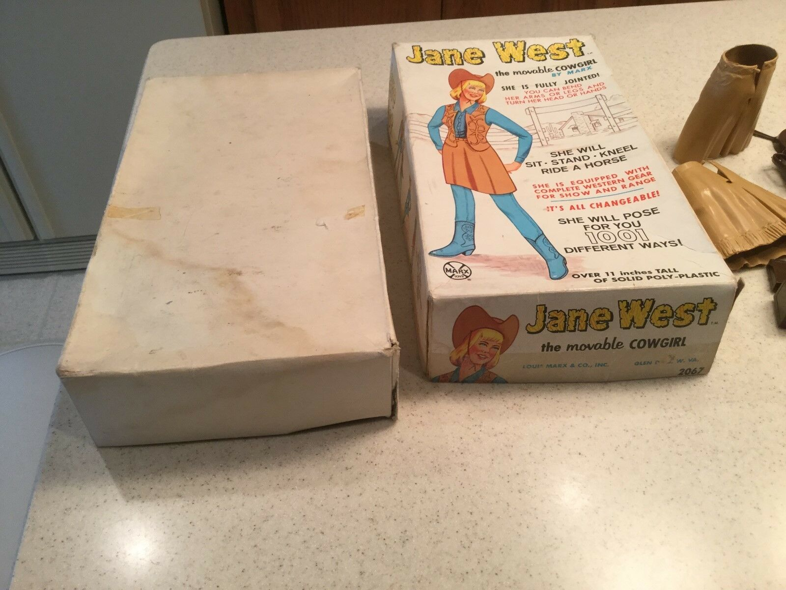 Vintage Louis Marx Jane West     W  Box and Most Accessories 0dacae