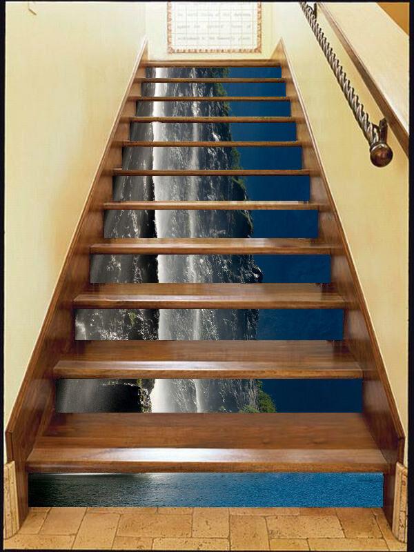 3D landscape 2537 Stair Risers Decoration Photo Mural Vinyl Decal Wallpaper UK
