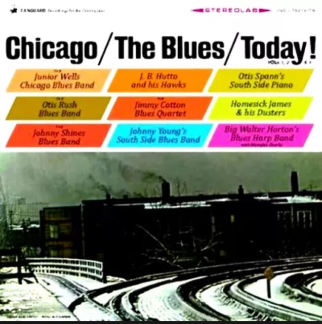CHICAGO/THE BLUES/TODAY! (VARIOUS ARTISTS) RSD 2021 DELUXE LIMITED EDITION MINT