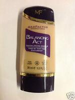 Max Factor Balancing Act Skin Balancing Makeup 35ml/1.2fl Oz Fair Ivory 4 New.