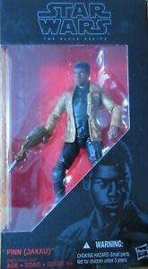 """Jakku 6/"""" The Black Series STAR WARS MIB #01 Hasbro NEW MIB Finn"""