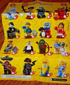 LEGO 71013 MINIFIGURES SERIES 16 New /& Sealed You Pick /& Choose