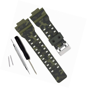 81e06a7c0e56 Image is loading Natural-Resin-Replacement-Watch-Band-Strap-for-Casio-