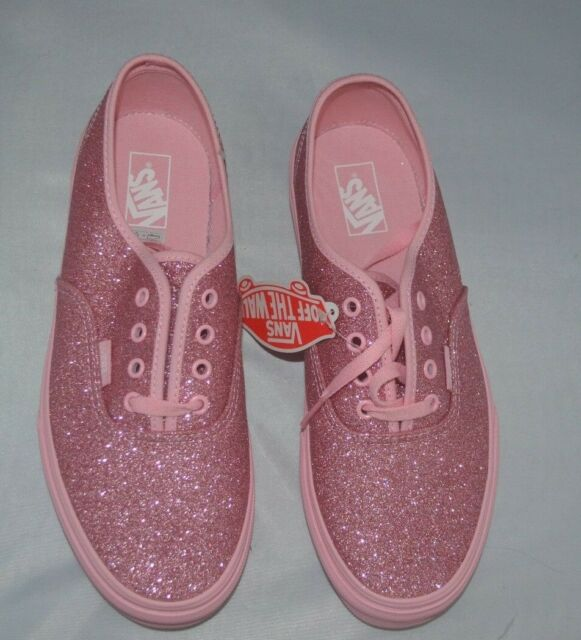 abaa13334b1b66 Vans Size 5 Pink Brand New FREE POST Authentic Bright Pink Shimmer