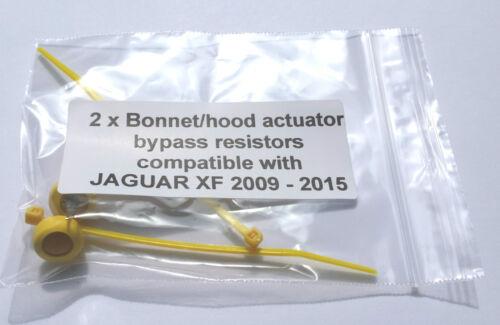 Jaguar XF 2009-2015 srs airbag bypass résistance siège piétonne pilotes rideau