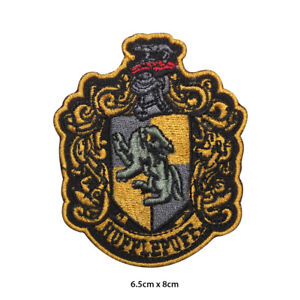 Harry-Potter-Hufflepuff-Embroidered-Patch-Iron-on-Sew-On-Badge-For-Clothes-etc