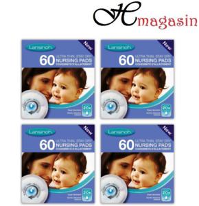 Lansinoh Disposable Nursing Pads Pack of 240 Pieces (60X4)