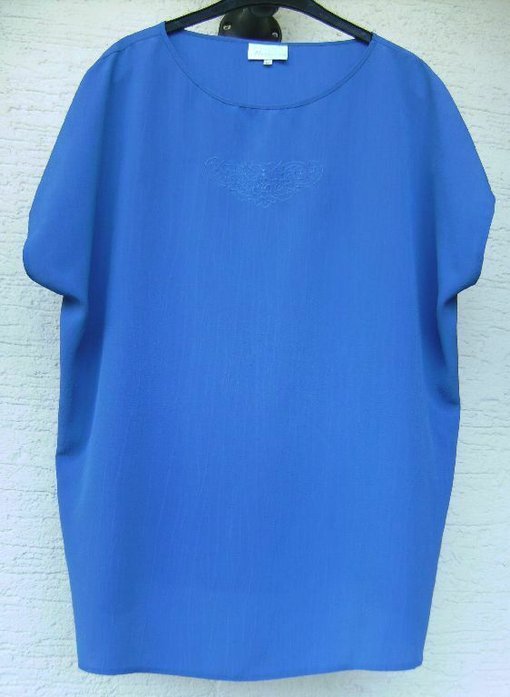 Damenbluse, Etikett 'melanie', Gr. 50, Blau