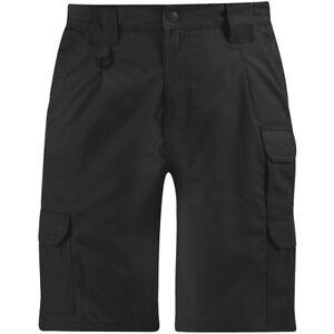 Propper Apropiado Hombre Pantalones Cortos Tactico Combate Carga Bermudas Negro Ebay
