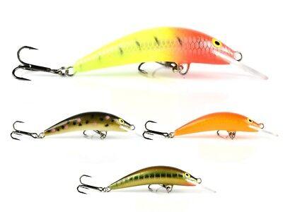 Krakusek NR 7 4,5cm 3,2g// floating chub handmade lure for trout ide