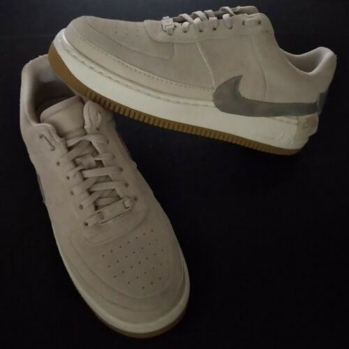 Nike Women's Air Force 1 AF1 Jester Low Sand Silve
