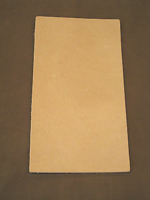 5-6 oz Veg Tan Cowhide Tooling Leather for Sheaths Holster Moccasin Soles Strops