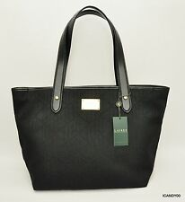 914085e9e6 item 1 Nwt  168 LAUREN by Ralph Lauren Signature Classic Tote Bag Handbag  Shopper Black -Nwt  168 LAUREN by Ralph Lauren Signature Classic Tote Bag  Handbag ...