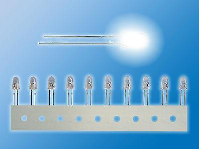 gelb 5mm top ultrahell 10 SuperFlux LEDs 100 Grad Abstrahlwinkel 1600 mcd