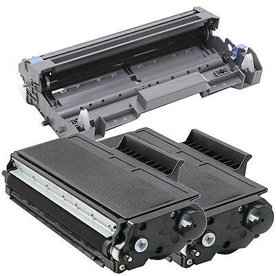 2 x TN580 Toner for Brother HL-5240 HL-5250 HL-5270DN HL-5280 1 x DR520 Drum