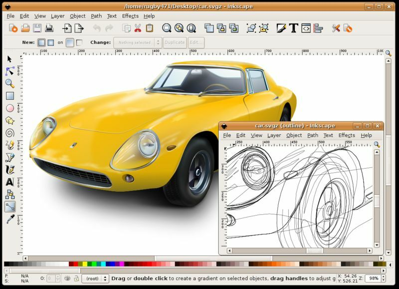 Inkscape Professional Drawing Software For Windows And Mac Ebay