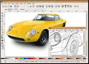 Details about Inkscape (Professional Drawing Software) Windows/Mac CD