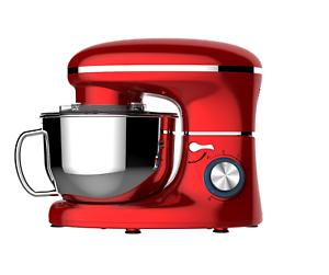 EIN HESKA rot Stand Mixer Prozessor
