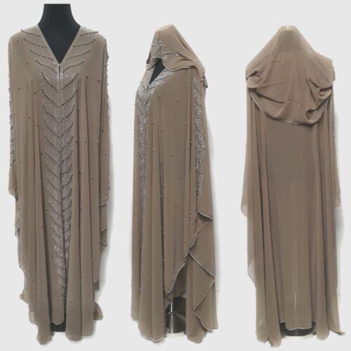Dernier Design Dubai Abaya Caftan Farasha maxi dress Jilbab Jalabiya burqa