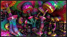 "P324 Trippy Art Print Digital Miscellaneous Psychedelic 40/"" x 24/"" Poster"